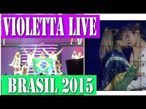 Violetta Live Brasil 2015