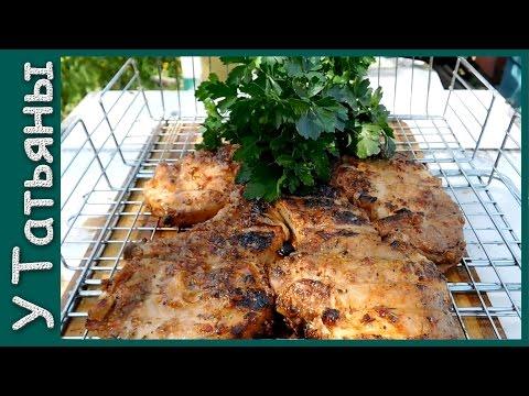 ЛУЧШИЙ в мире СТЕЙК на мангале из свинины! Маринад для мяса. Свиные стейки.