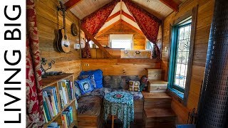 Spectacular Tiny House Truck Made From Salvaged Materials