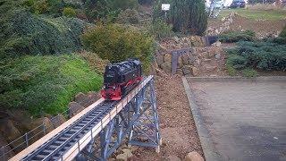 kurze Winterimpression und Zwischenstand beim Brückenbau HD