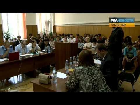 Прения #PussyRiot: адвокат Фейгин (07.08.2012)