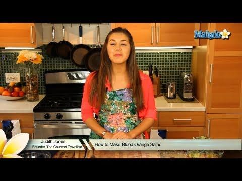 How to Make Blood Orange Salad