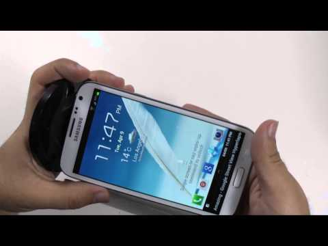 How To Wirelessly Charge The Galaxy Note 2