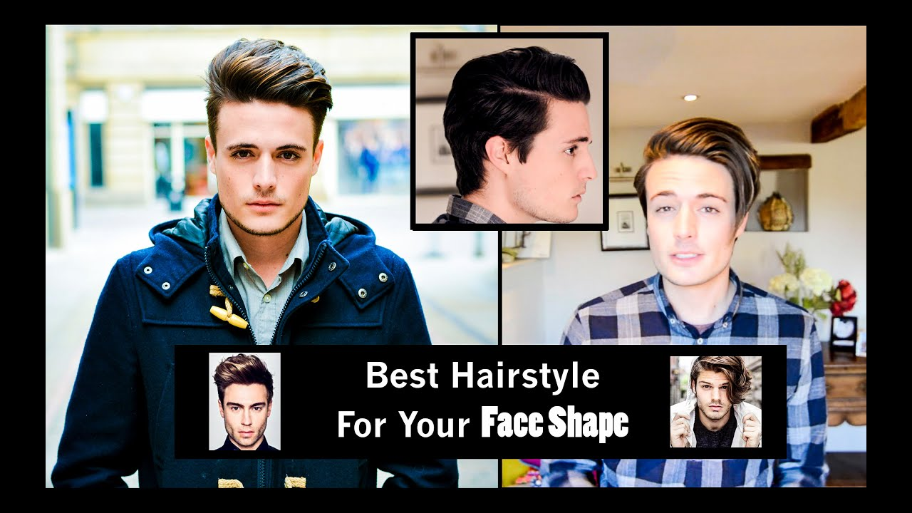 Choosing the Best Hairstyle for Your Face Shape | Mens Hair - YouTube