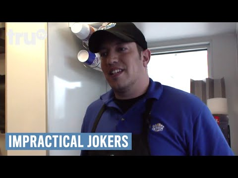 Impractical Jokers - How to Pet a Mustache | truTV