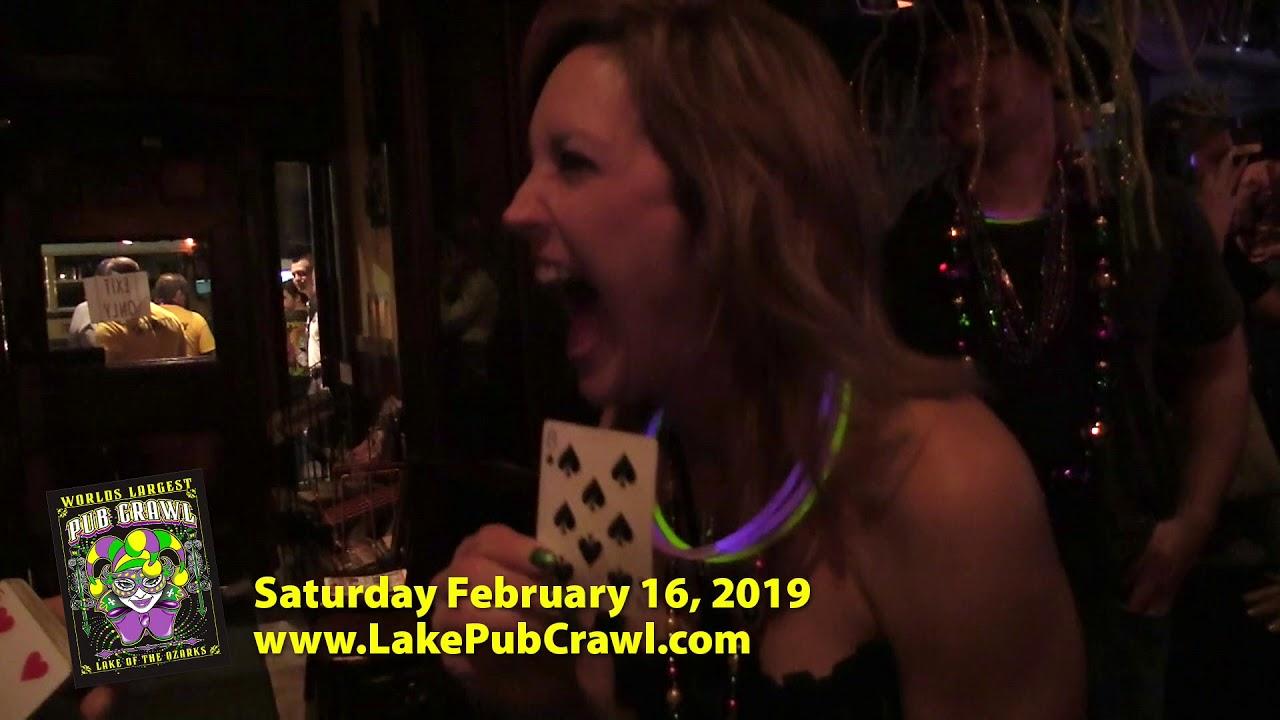 Lake of the Ozarks Mardi-Gras Pub Crawl 2019