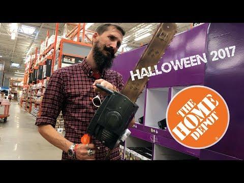 The Home Depot Halloween 2017 Merchandise
