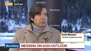 Intesa Sanpaolo Ceo Messina Sees Opportunity In Negative Rates