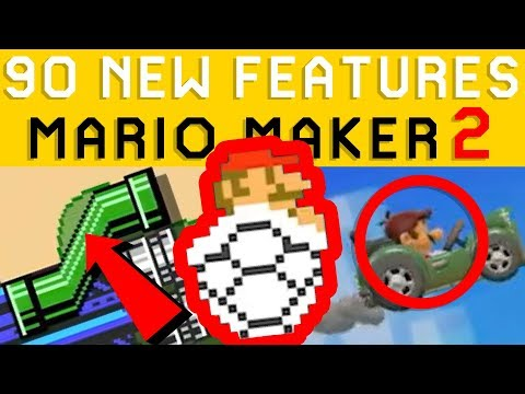 super-mario-maker-2-all-new-features-you-missed!-nintendo-direct-analysis
