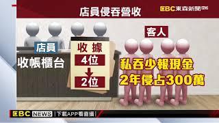 短報用餐人數 馬辣麻辣鍋4店員2年侵占300萬