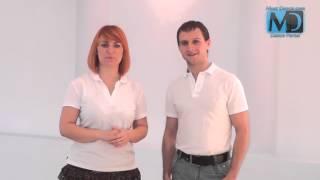 Сальса. Видео урок №10 от MostDance.com (Голинищенко,Вишняков)