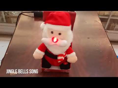 BONEKA SANTA CLAUS BY ACE HARDWARE JINGLE BELLS SONG PLUS DISCO