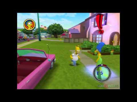 The Simpsons Hit & Run - Gameplay PS2 HD 720P