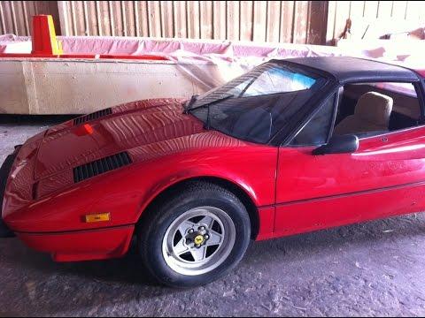Ferrari 308 Timing Belt Change Timelapse