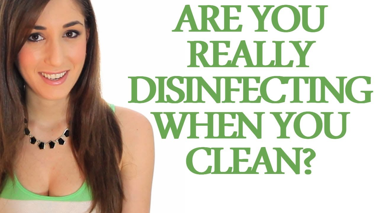 Cleaners Vs  Disinfectants: What You Need to Know - Clean My