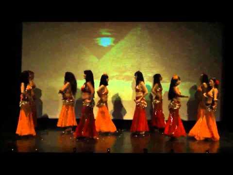Gala danse orientales,tribales et fusion, école Stellalouna