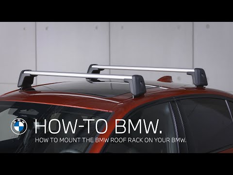 How To Mount The BMW Roof Rack – BMW How-To