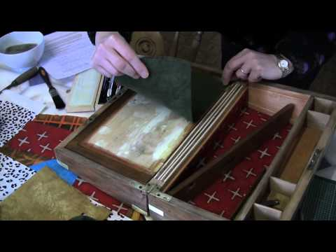 Restoring an antique box. Jackdaw Boxes