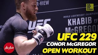 UFC 229: Conor McGregor Works Out, Sends Scathing Message to Khabib