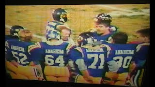 1987 CIF-SS Central Conference Finals - Anaheim Colonists vs. Valencia Tigers