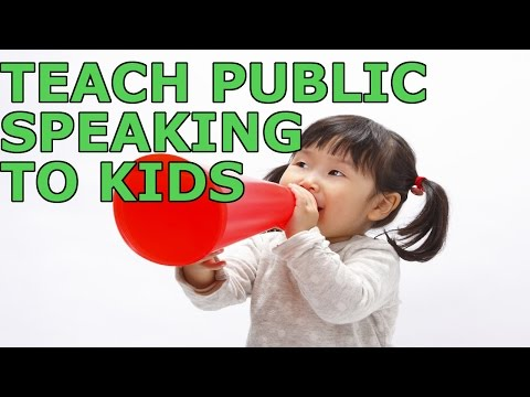 7 Ways To Teach Public Speaking To Kids