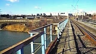 Железнодорожный мост в ТБИЛИСИ. РЕКА КУРА
