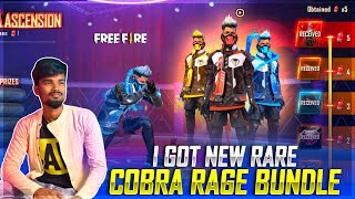 😱🔥I'M Very Lucky Cobra Ascension🔥| I Got It Cobra Ascension Dress | Free Fire New Event Tamil