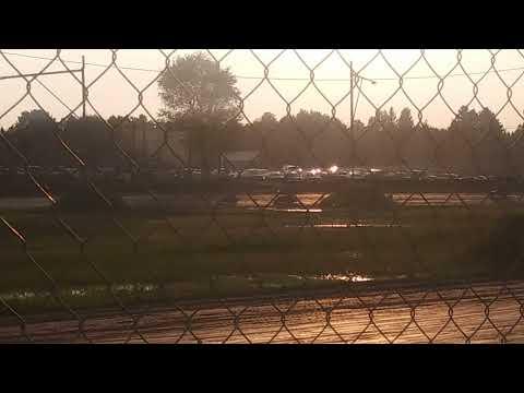 7D Jr sprint heat race Tomahawk Speedway 8/19/17