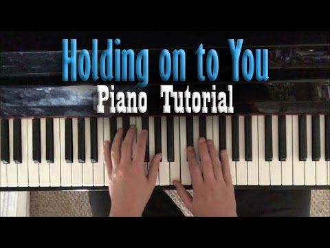 """Piano Tutorial for """"Holding on to You"""" by twenty one pilots"""
