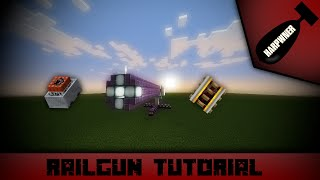 Minecraft TNT Railgun (with a barrel!) Tutorial