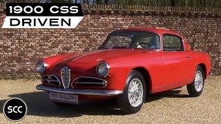 ALFA Romeo 1900 CSS 1956 - Full test drive in top gear - Engine sound | SCC TV