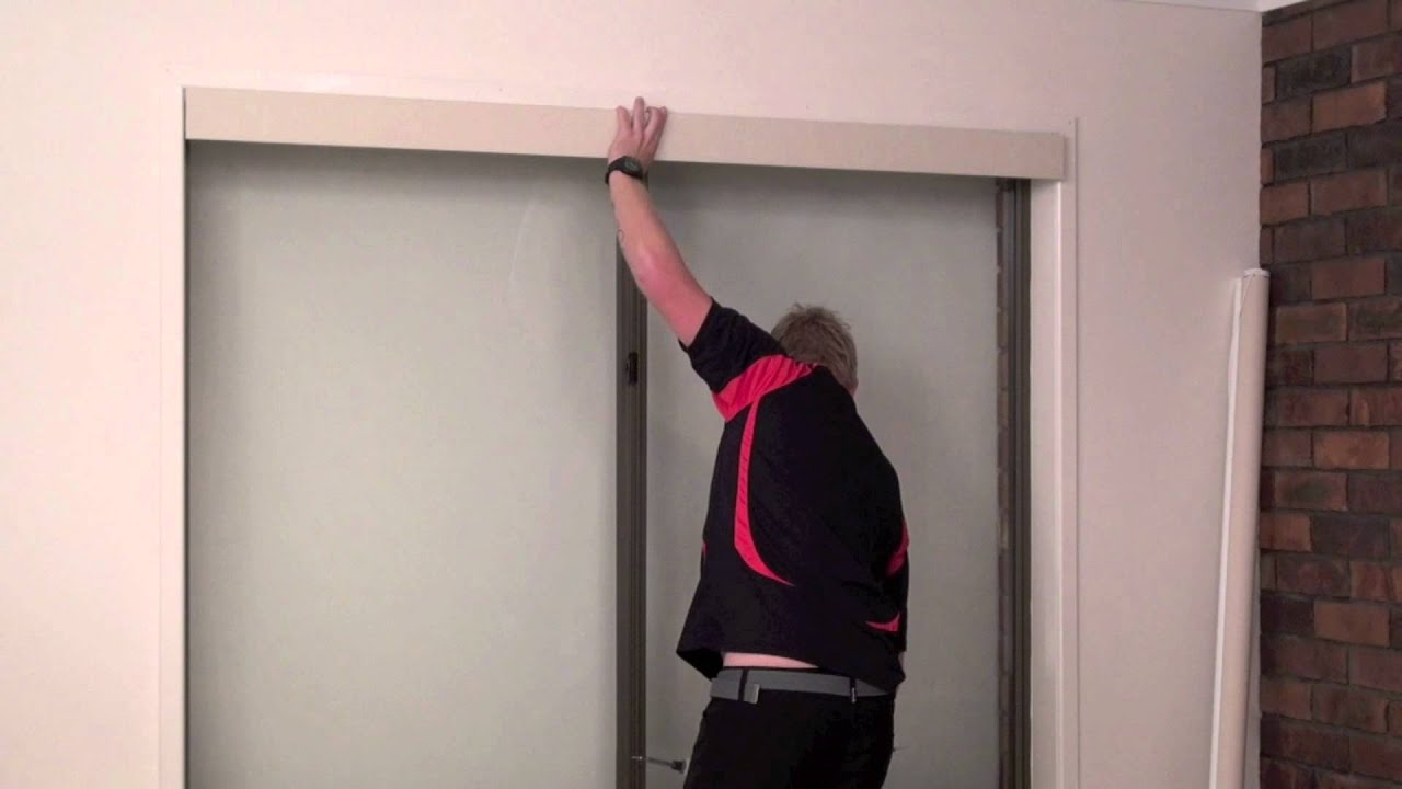How To Install A Fabric Pelmet Over A Roller Blind Youtube