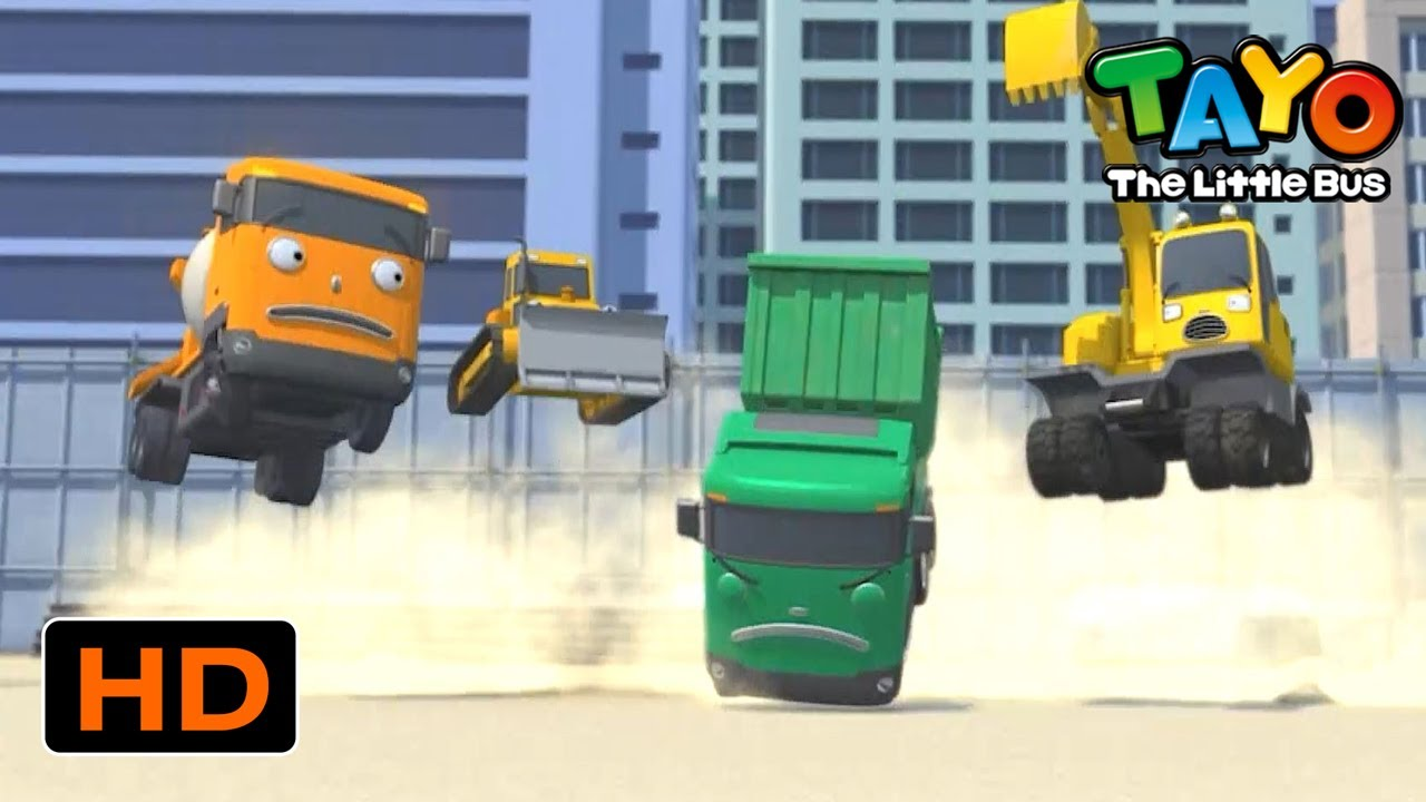 Tayo English Episodes l Strong Heavy Vehicles have *SUPER POWER* l Tayo the Little Bus