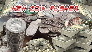 Found *NEW* Coin Pusher at a Buffet! Is this a Money Maker??
