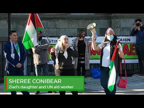 BARRY RALLY FOR PALESTINE