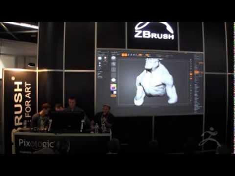 ZBrush at SIGGRAPH 2013 Sony Santa Monica Studio Part 1