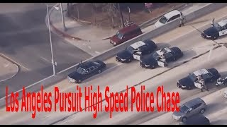 Los Angeles Pursuit High Speed Police cops