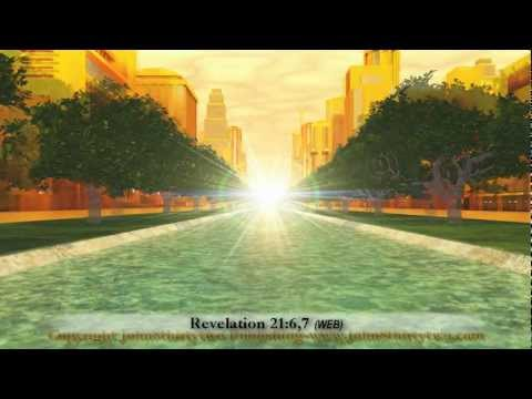 #3 The New Jerusalem,Revelation 21+22,Pictures New Heaven Earth,John's vision,What Heaven looks like
