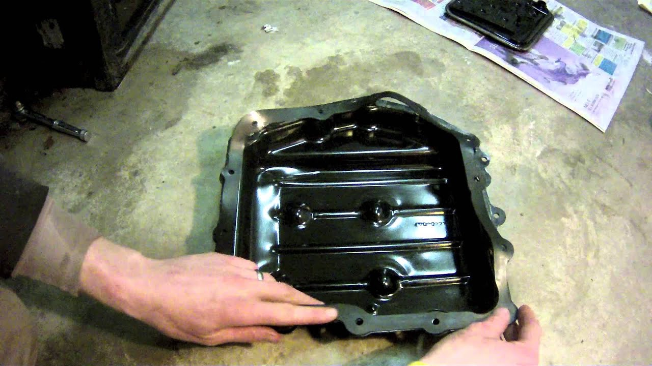 How to change transmission fluid in a dodge caravan youtube for Motor oil for chrysler town and country