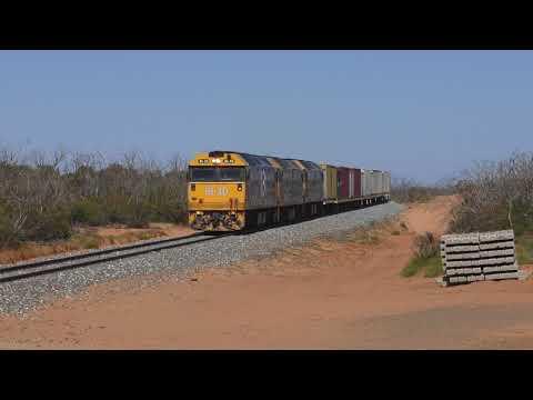 Australian Trains - The Standard Gauge Fruity To Mildura.