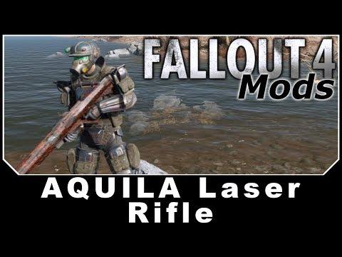 Fallout 4 Mods - Aquila Laser Rifle