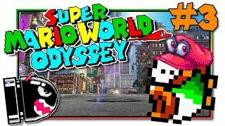 Super Mario World Odyssey - SMW Rom Hack with Cappy! (EP3)