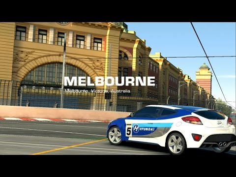 Real Racing 3: - Gameplay Hyundai Veloster Turbo Melbourne