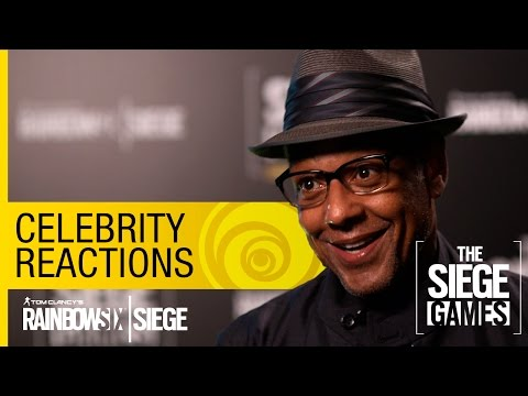 Tom Clancy's Rainbow Six Siege Official – Celebrity Siege Reactions