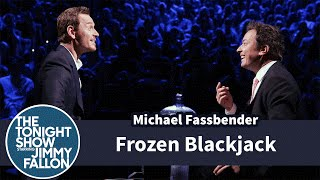 Frozen Blackjack with Michael Fassbender by : The Tonight Show Starring Jimmy Fallon