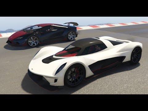 GTA 5 Top Speed Drag Race (Vagner vs. Tempesta)