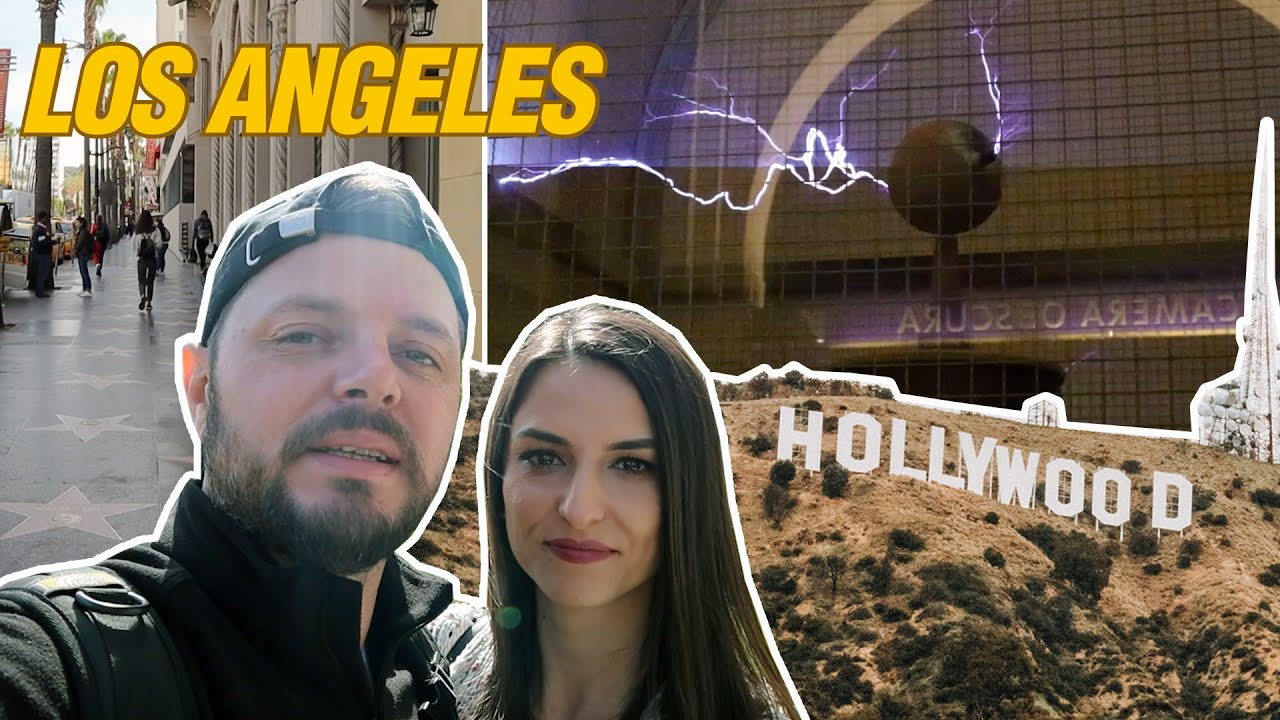 Am ajuns in Los Angeles | CAZARE, Hollywood Walk of Fame si locuri vazute in FILME