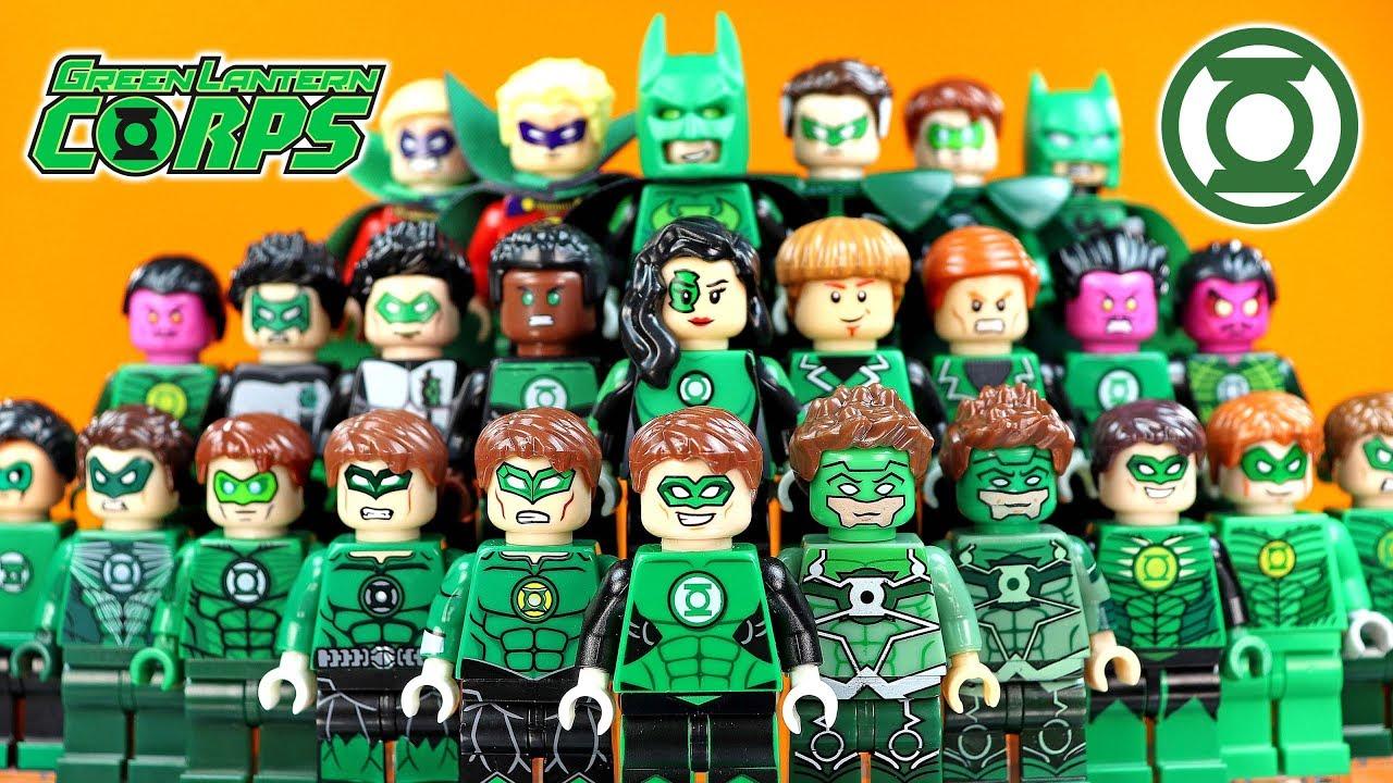 LEGO® Superheroes™ Green Lantern minifig from 76025