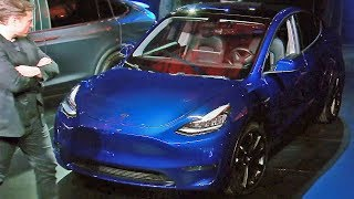 2021 Tesla Model Y — Full Presentation with Elon Musk