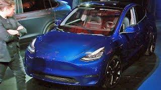 2021 Tesla Model Y — Full Presentation with Elon Musk